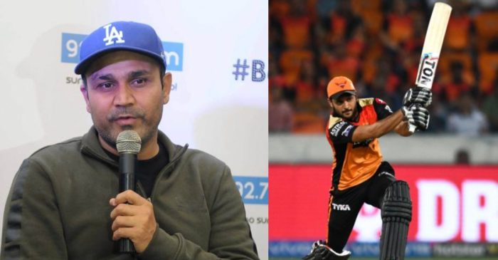IPL 2021: Virender Sehwag takes an indirect dig at Manish Pandey for not taking SRH over the finish line
