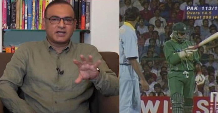 Aamer Sohail reveals an interesting story regarding his face-off with Venkatesh Prasad in the 1996 World Cup