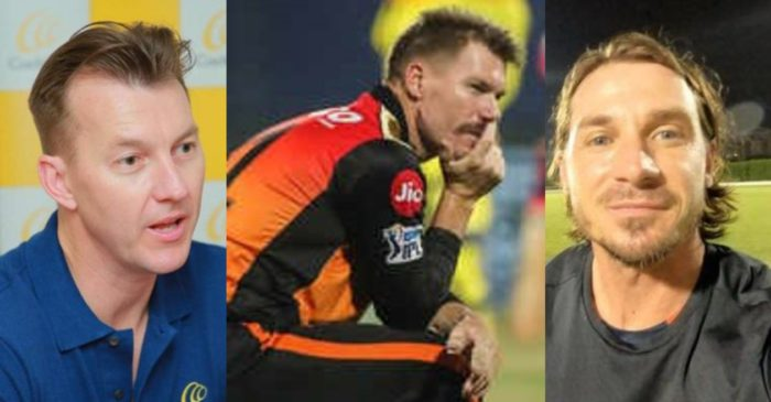 IPL 2021: Brett Lee, Dale Steyn express shock at snubbing of David Warner from SRH's playing XI against RR