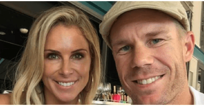 Candice Warner and David Warner