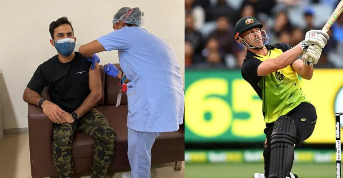 """""""At least wear pants"""": Chris Lynn and Dinesh Karthik get involved in hilarious banter on social media"""