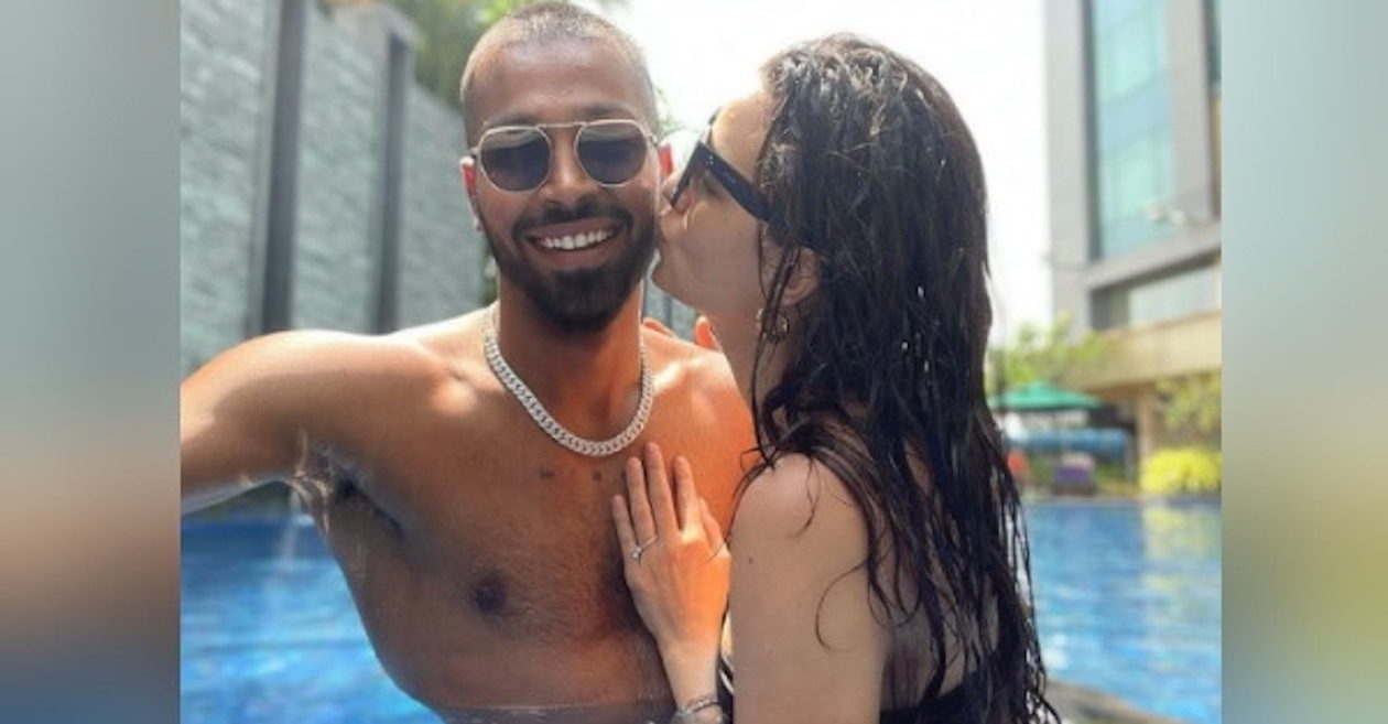 Hardik Pandya and his wife Natasa Stankovic enchant fans with their lovely pictures