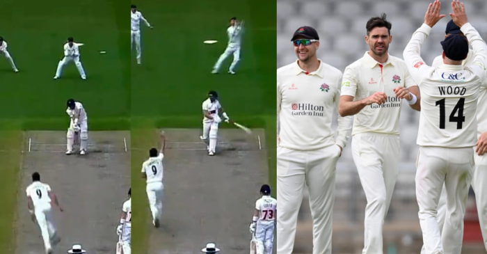 WATCH: James Anderson dismisses Marnus Labuschagne with peach of a delivery in County Championship 2021