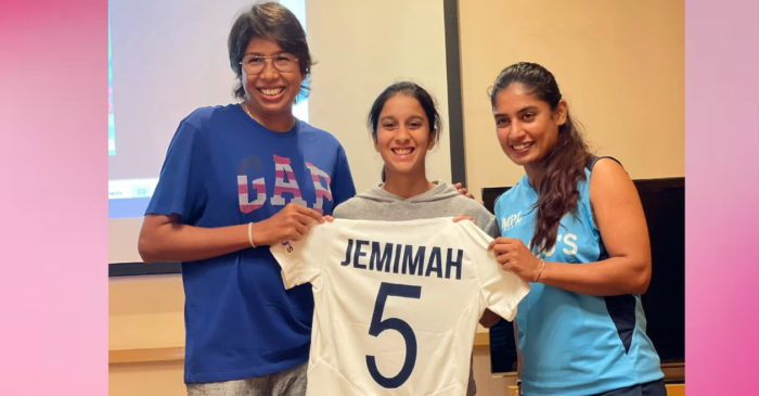 Jemimah Rodrigues writes a soul-stirring note after receiving a new Test jersey ahead of England tour