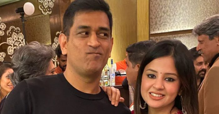 MS Dhoni's wife Sakshi shares a nostalgic picture of her husband