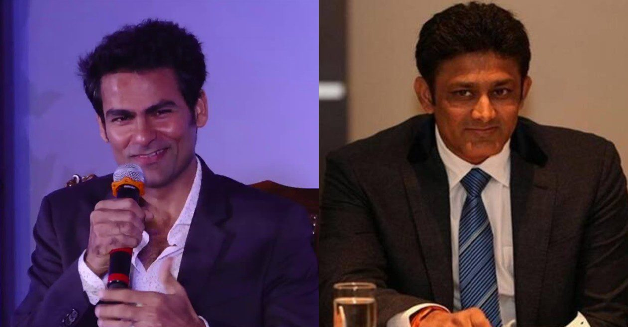 Mohammad Kaif eulogizes Anil Kumble after ICC celebrates his accomplishments; former leg-spinner reacts