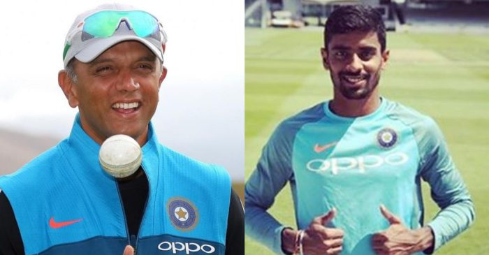 """I was proud to play under him for India A"": Abhimanyu Easwaran shares his experience with Rahul Dravid"