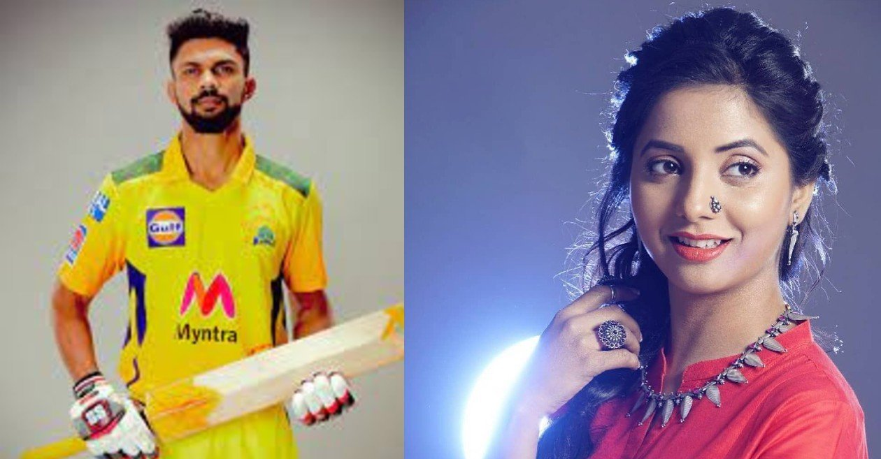 Ruturaj Gaikwad gives a witty reply in the backdrop of dating speculations with actress Sayali Sanjeev