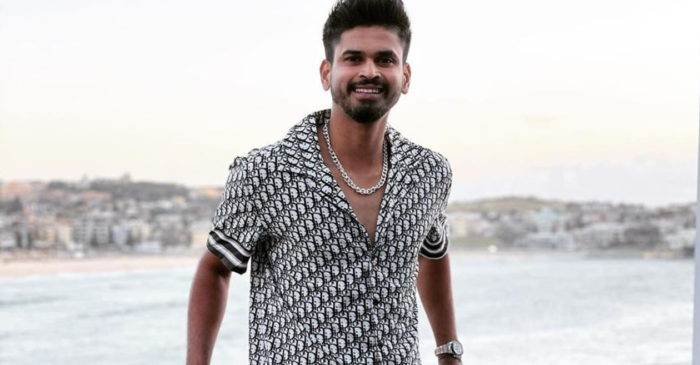 Shreyas Iyer gives an update on his shoulder injury ahead of the Sri Lanka tour