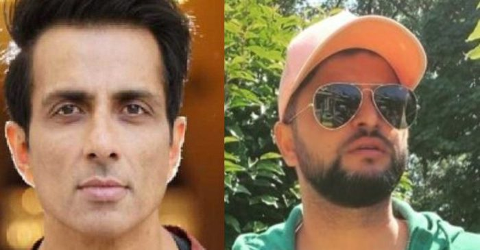 Bollywood actor Sonu Sood responds to Suresh Raina's request for an oxygen cylinder