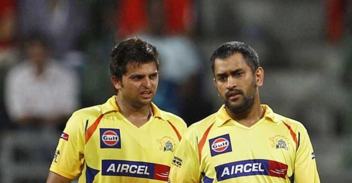 Suresh Raina recalls MS Dhoni's message when the southpaw was bought by CSK during IPL 2008 auction