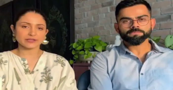 Virat Kohli and Anushka Sharma raise INR 11 crore in less than a week for fighting COVID-19 in India