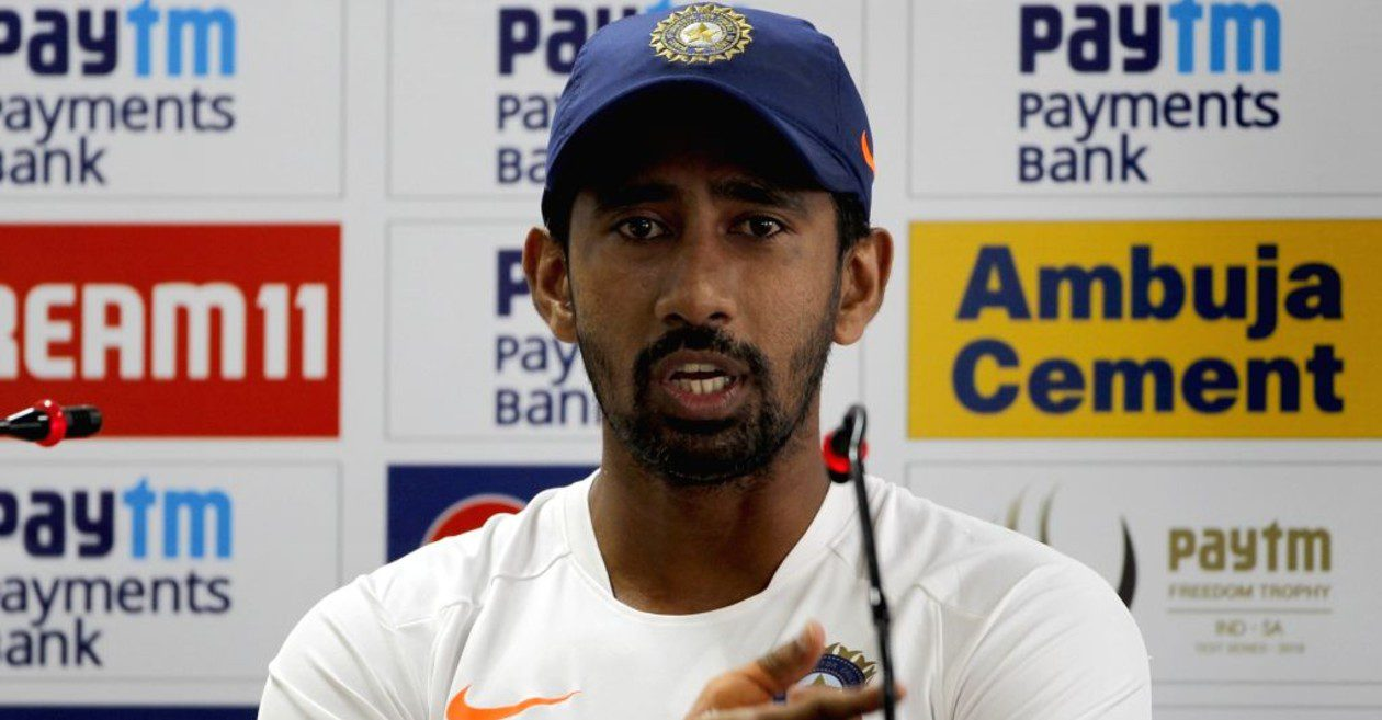 """IPL 2021 would have been """"better off"""" in UAE: Wriddhiman Saha"""