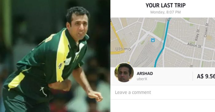 Former Pakistan cricketer Arshad Khan turns taxi driver in Australia to earn his living