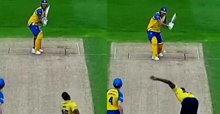 WATCH: Ben Stokes takes revenge from Carlos Brathwaite during a T20 Blast 2021 game