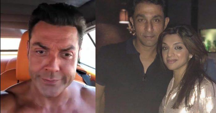 Azhar Mahmood's wife Ebba Qureshi asks fitness tips for her husband from Bobby Deol; the former player reacts