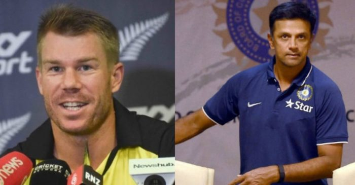 David Warner heaps praise on Rahul Dravid for grooming young talent and preparing India's bench strength