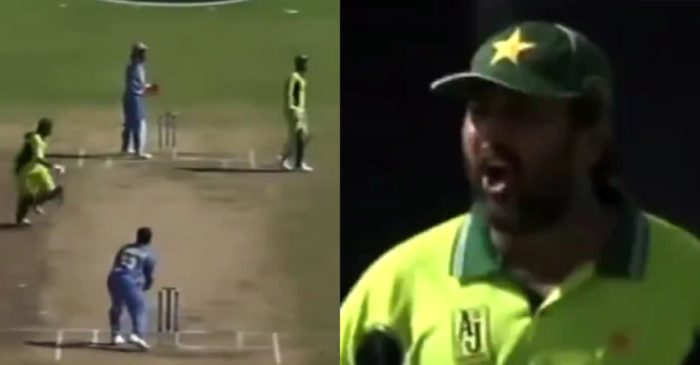 WATCH: When Inzamam-ul-Haq lashed out at Abdul Razzaq after a terrible mix-up versus India