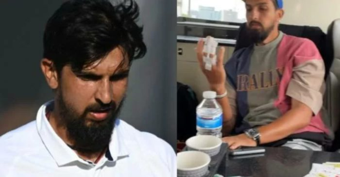 Ishant Sharma receives multiple stitches on his right hand due to an injury in the WTC final
