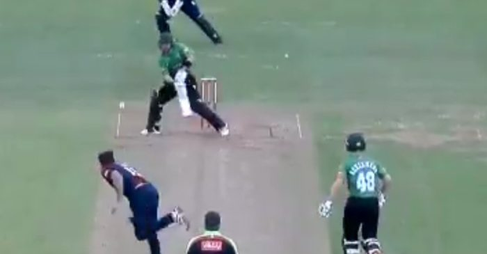 WATCH- Josh Inglis plays a reverse scoop against Nathan Buck during T20 Blast 2021