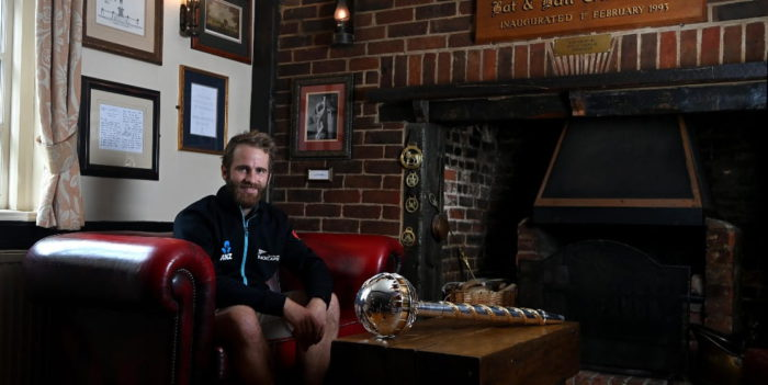 After winning the WTC final, Kane Williamson takes ICC Test mace to the iconic Hambledon Club