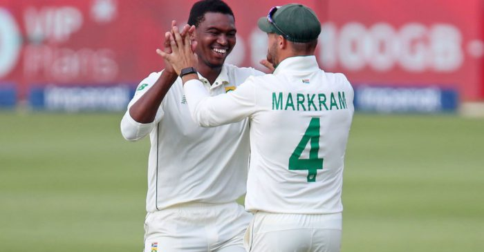 Lungi Ngidi's fifer, Aiden Markram's fifty help South Africa dominate Day 1 of 1st Test against West Indies