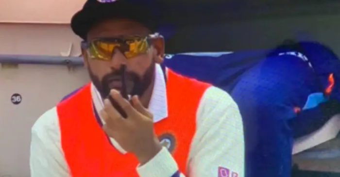 Mohammed Siraj's picture of talking on a walkie-talkie sparks a meme fest