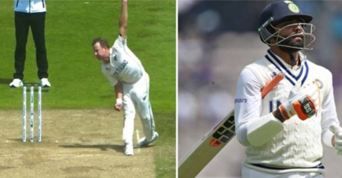 Here is the reason why Ravindra Jadeja was out despite Neil Wagner's backfoot was outside the return crease