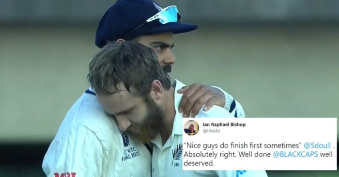 Twitter Reactions: Kane Williamson-led New Zealand clinches the maiden ICC World Test Championship
