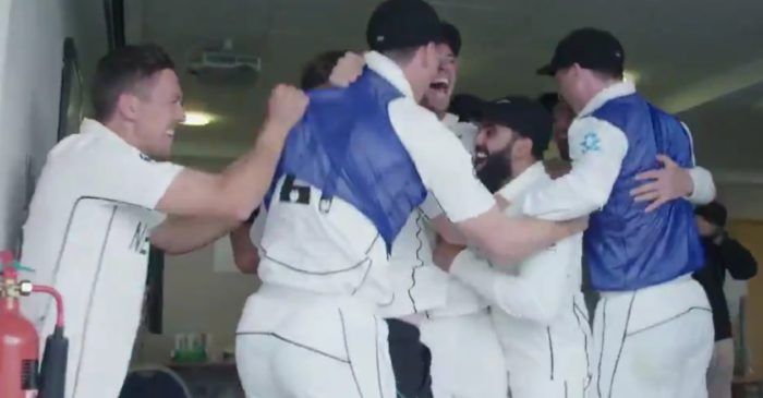 WATCH: New Zealand celebrate after winning the WTC final against India