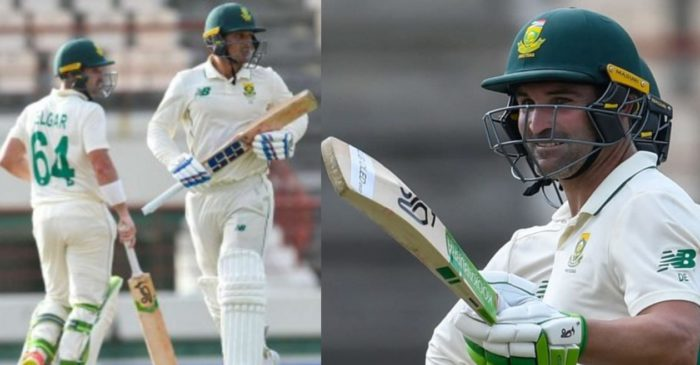 WI vs SA, 2nd Test: Dean Elgar and Quinton de Kock smashes half-centuries as South Africa dominate Day 1