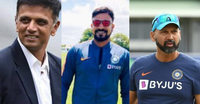 Paras Mhambrey and T Dilip to join Rahul Dravid as deputy coaches for Sri Lanka tour