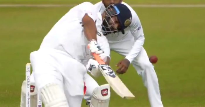 WATCH: Rishabh Pant hits a towering six during an intra-squad practice game in Southampton