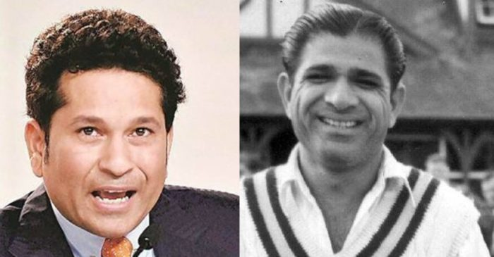 Sachin Tendulkar 'delighted' with Vinoo Mankad's induction in ICC Hall of Fame