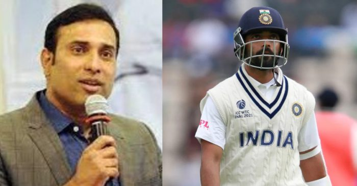 VVS Laxman describes Ajinkya Rahane's mistake after his dismissal in the 1st innings of the WTC final