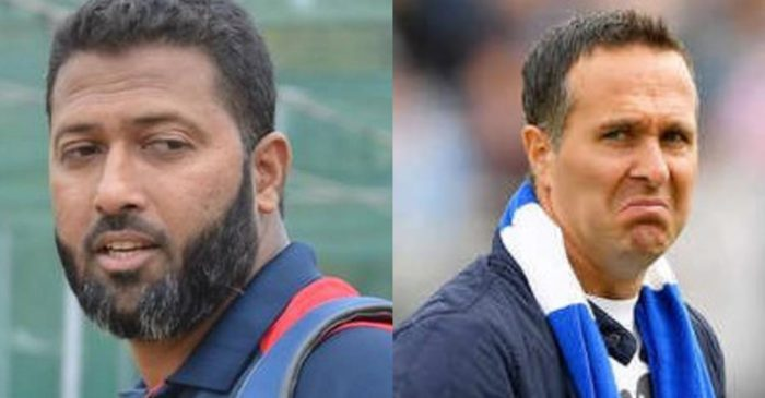 Wasim Jaffer hilariously trolls Michael Vaughan after England's series loss to New Zealand