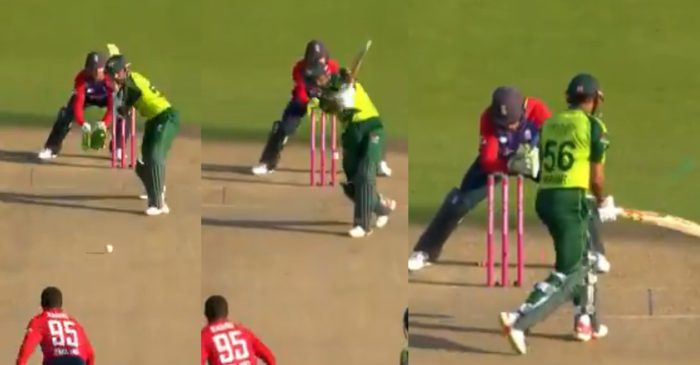 WATCH: Adil Rashid deceives Babar Azam with a beauty during ENG vs PAK 3rd T20I