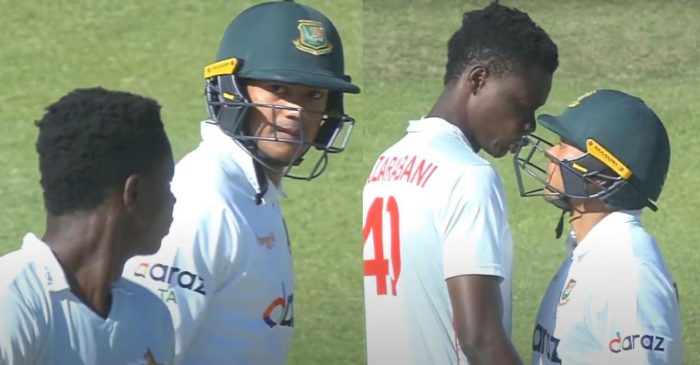 WATCH: Zimbabwe and Bangladesh players punished for bumping heads in one-off Test