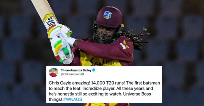 Twitter reactions: Chris Gayle stars in West Indies' series-clinching win over Australia