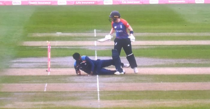 WATCH: Heather Knight's bizarre run-out in the second T20I against India Women