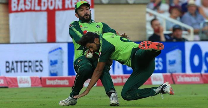 WATCH: Haris Rauf takes a spectacular catch to dismiss Moeen Ali despite collision with Sohaib Maqsood – ENG vs PAK 2021