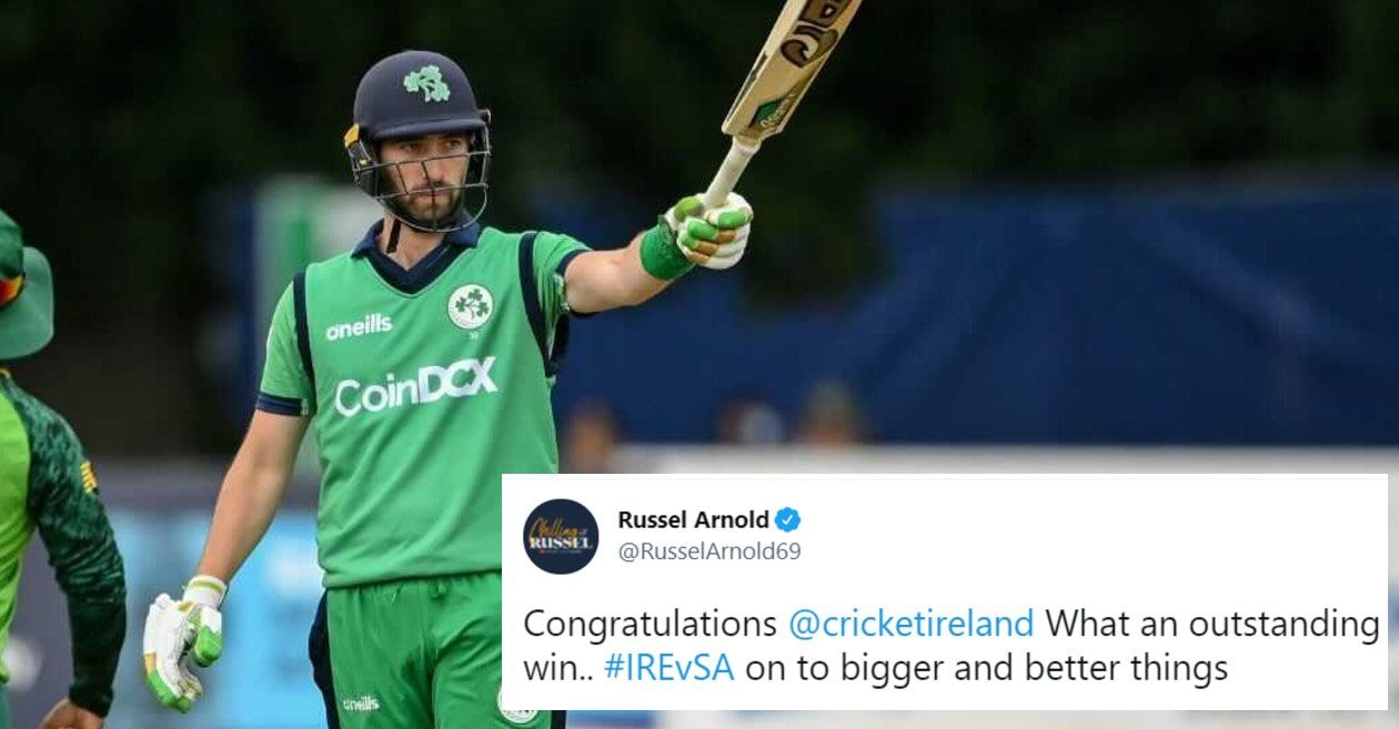 Twitter reactions: Andrew Balbirnie's stunning ton powers Ireland to first-ever ODI win over South Africa