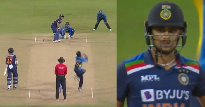 WATCH: Ishan Kishan smashes a massive six on the first ball in his ODI debut – SL vs IND 2021