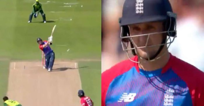 WATCH: Liam Livingstone hits one of the biggest six of all-time against Pakistan during 2nd T20I at Headingley