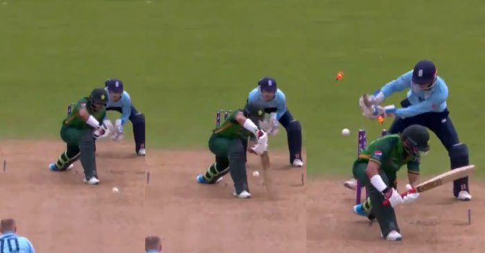 WATCH: Matthew Parkinson bamboozles Imam-ul-Haq with 'peach of a delivery' during ENG vs PAK 3rd ODI