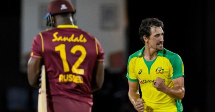 WATCH: Mitchell Starc vs Andre Russell – Last over thriller during WI vs AUS 4th T20I