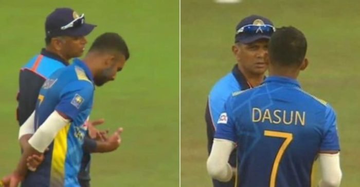 SL vs IND: What exactly Rahul Dravid told Dasun Shanaka on-field during the 3rd ODI? Here is the answer