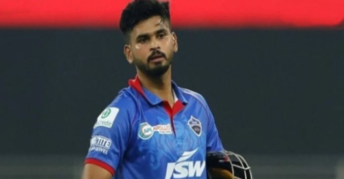 Shreyas Iyer reacts after being ruled out of Royal London Cup