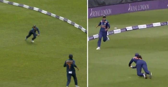 ENGW vs INDW: WATCH – Smriti Mandhana takes an incredible catch to dismiss Natalie Sciver in 3rd ODI