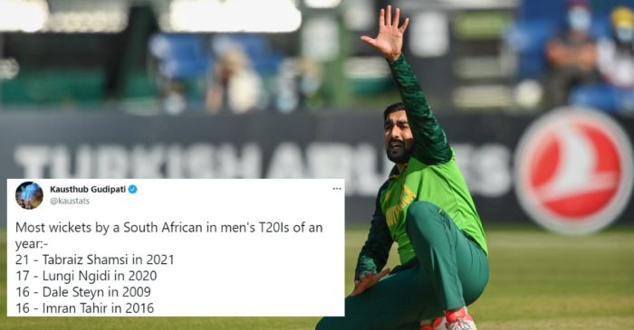 Twitter reactions: Tabraiz Shamsi powers South Africa to a dazzling victory over Ireland in 1st T20I